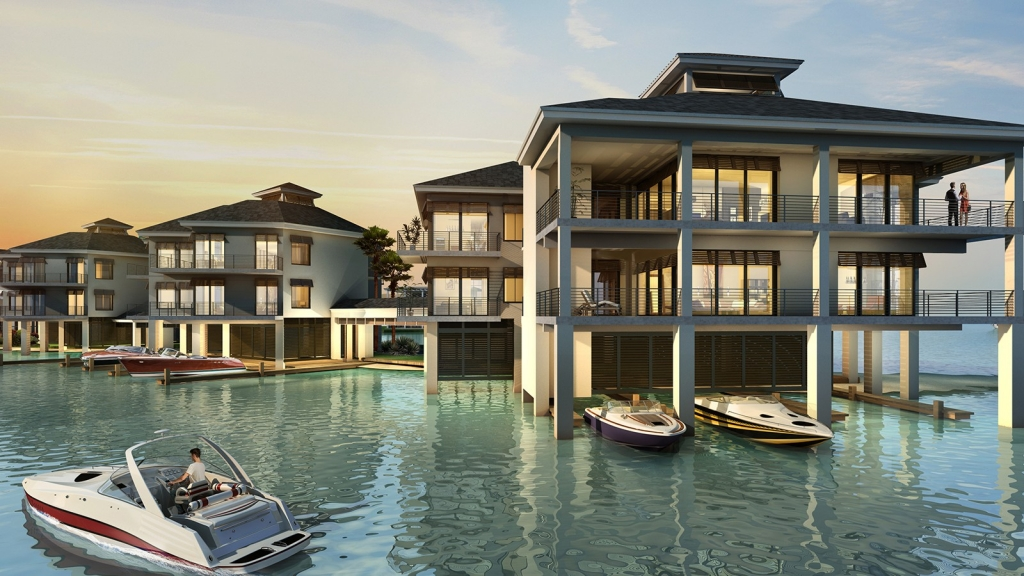Rendering of February Point Overwater Residences, Great Exuma